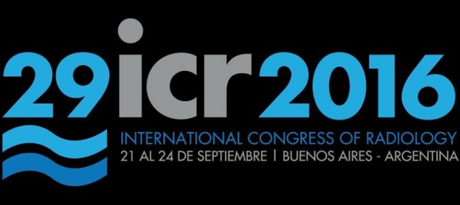 XXIX International Congress of Radiology 2016